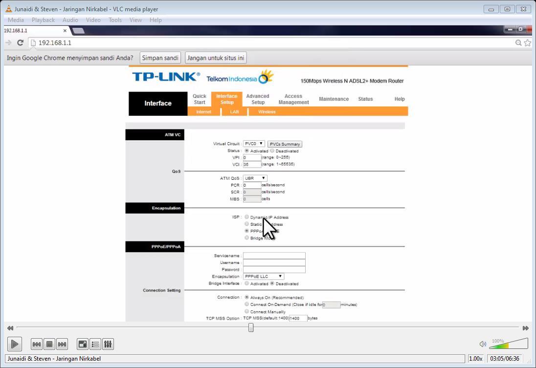 7 setting modem adsl dari speedy emerer.com