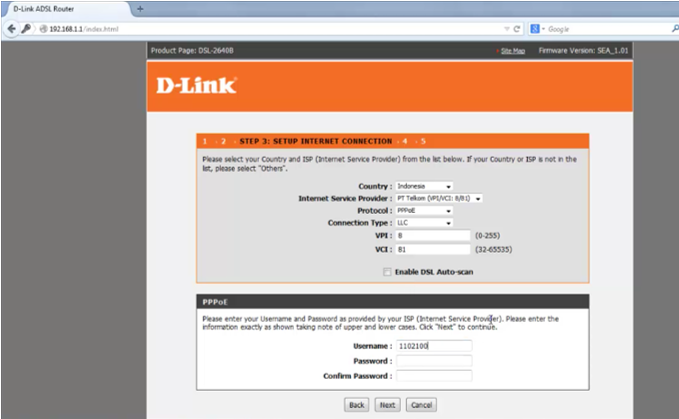 8 Tutorial Lengkap Setting Modem Router Wireless D-LINK DSL 2640B emerer.com