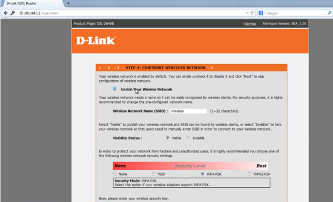 9 Tutorial Lengkap Setting Modem Router Wireless D-LINK DSL 2640B emerer.com