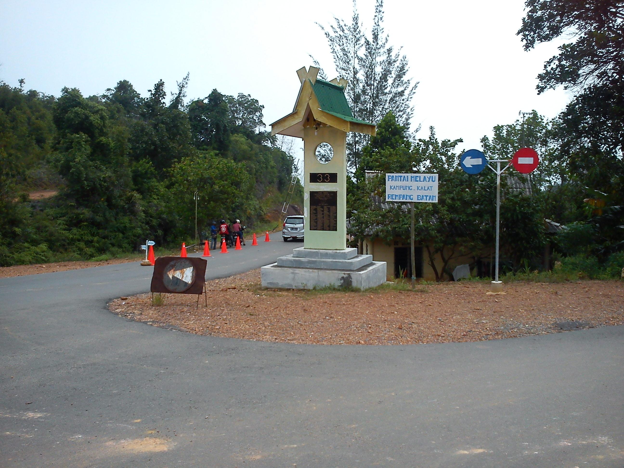 1 Jalan jalan ke Pantai Melayu Batam di Pulau Rempang, Kampung Kalat emerer.com