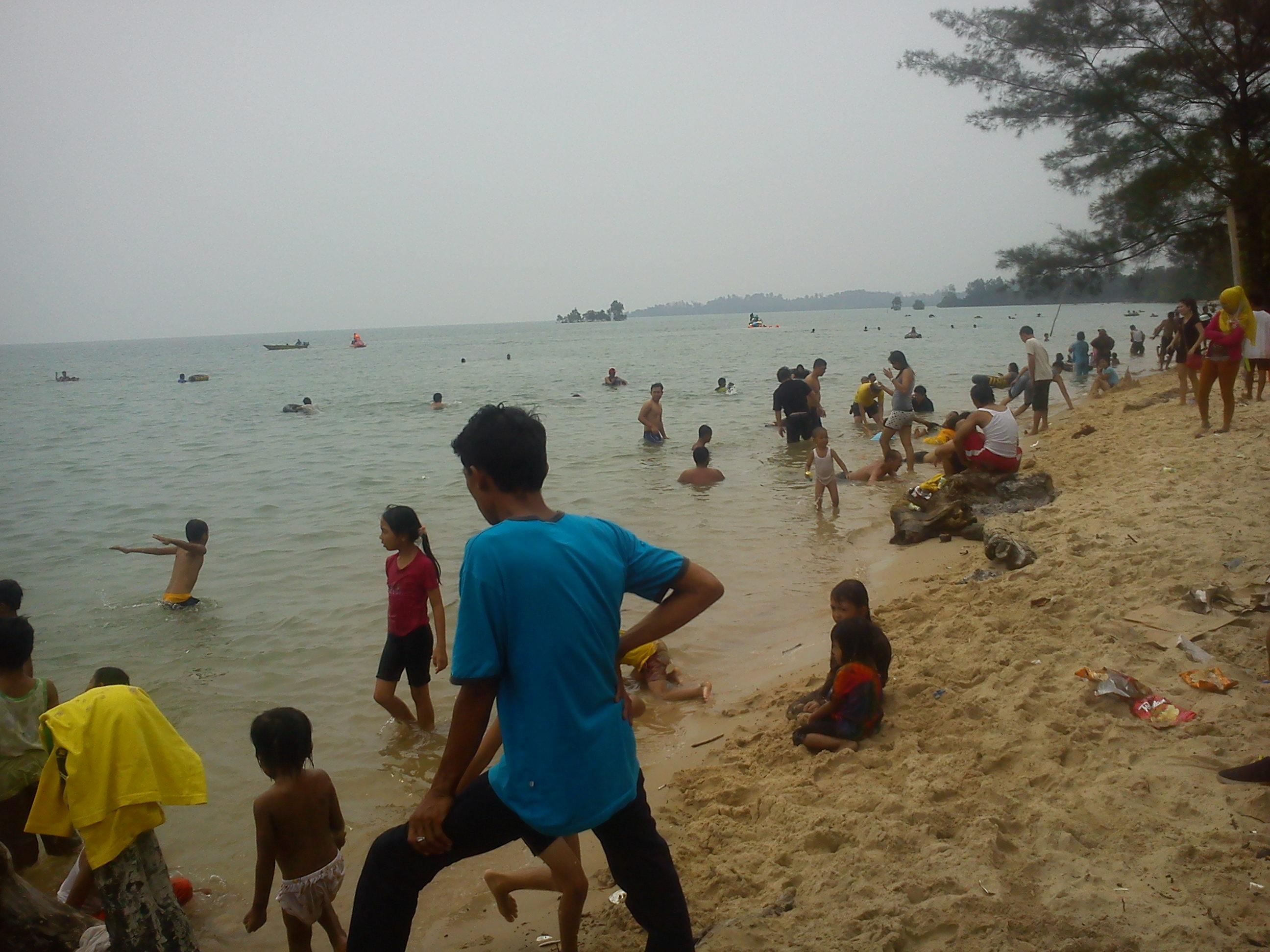 4 Jalan jalan ke Pantai Melayu Batam di Pulau Rempang, Kampung Kalat emerer.com