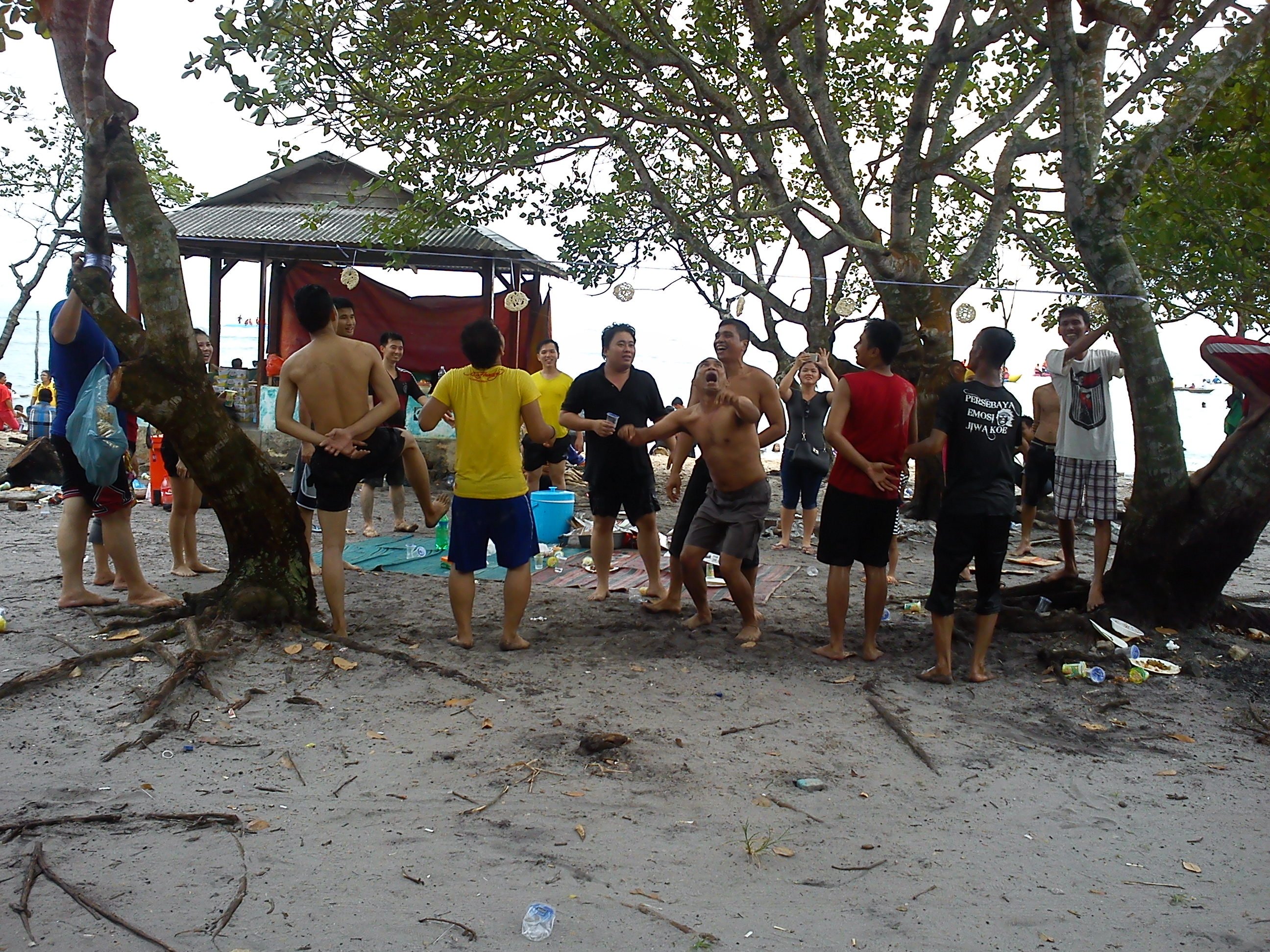 8 Jalan jalan ke Pantai Melayu Batam di Pulau Rempang, Kampung Kalat emerer.com