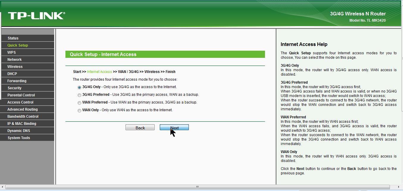 Berbagi Koneksi Internet MODEM USB Dengan Wireless Router TP Link MR3420 8a emerer.com