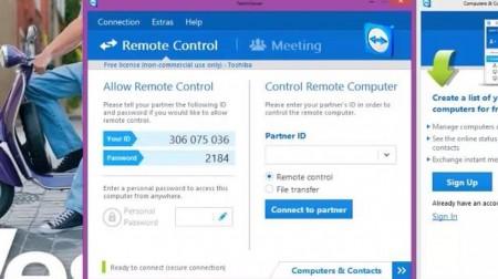 4 Cara Meremote Laptop dengan TeamViewer emerer.com