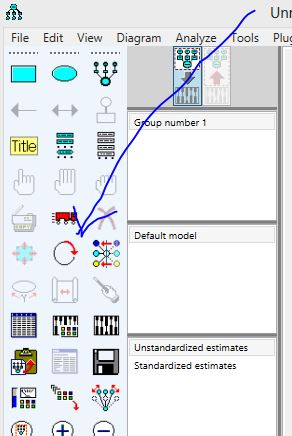 11 Pengolahan data dengan AMOS Cara Membuat Model SEM emerer.com
