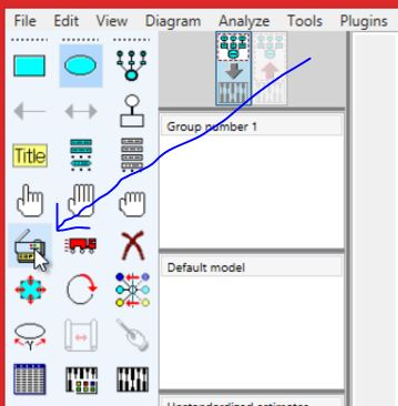 4 Pengolahan data dengan AMOS Cara Membuat Model SEM emerer com
