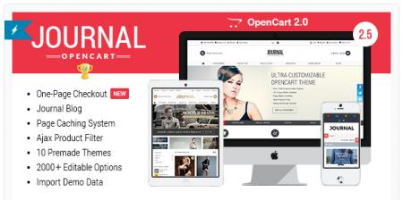 1 Daftar Theme OpenCart yang Keren Journal Theme