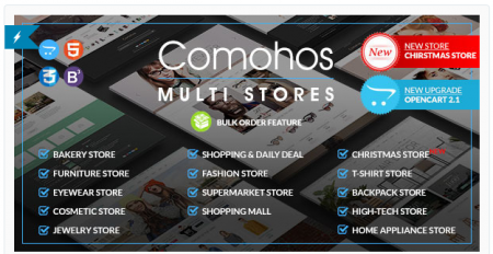5 Daftar Theme OpenCart yang Keren Comohos Theme