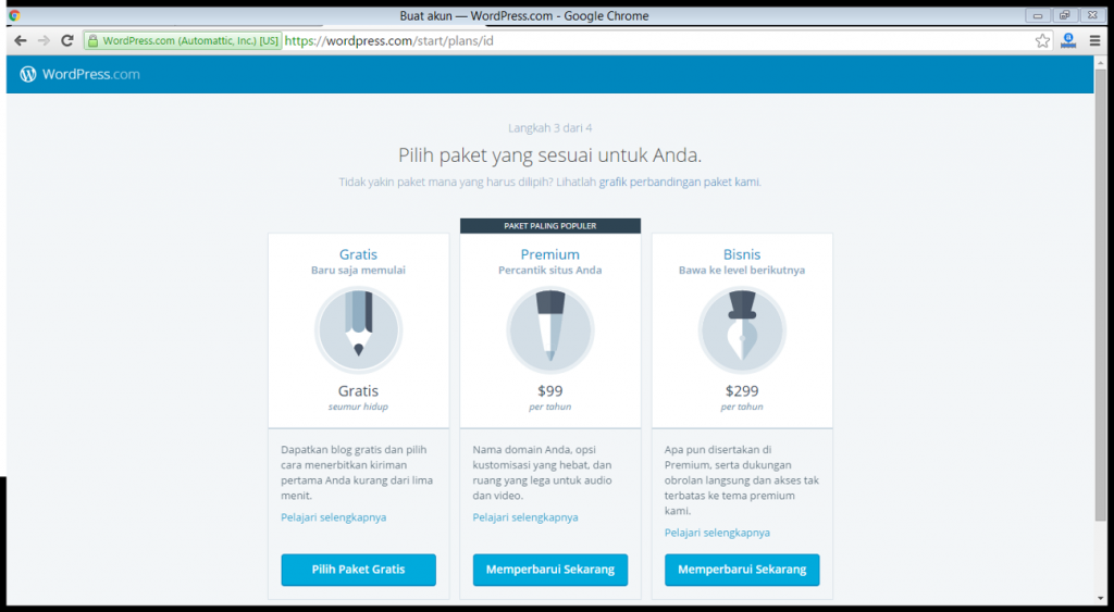 3 cara membuat wordpress indonesia emerer.om