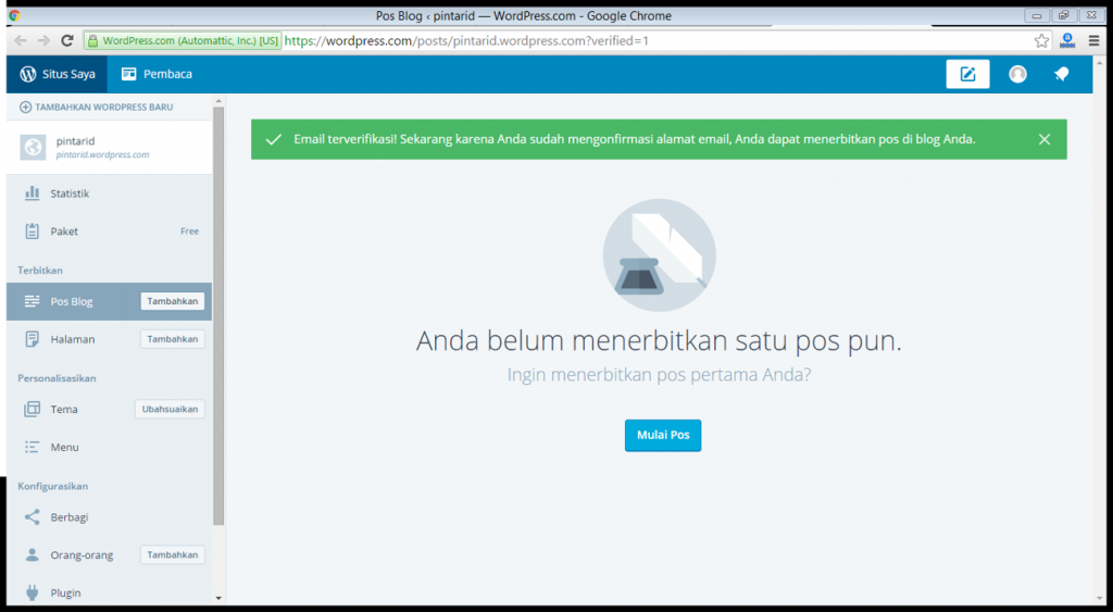 7 cara membuat wordpress indonesia emerer.om