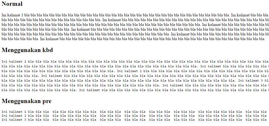 tag kbd pre html emerer.com