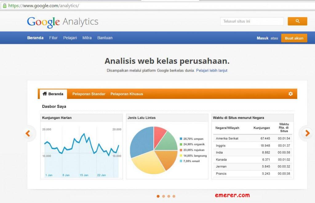 1 Cara Melihat Jumlah Pengunjung Website Kamu Dengan Akurat Google Analytics emerer.com