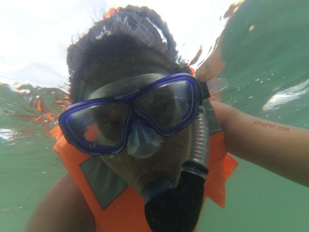 Snorkling Pulau Abang.
